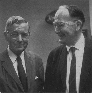 Douglas V. Steere - Douglas V. Steere (right) with the Finnish sociologist Heikki Waris in the 1950s.