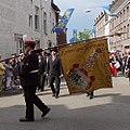 Heiligdomsvaart Maastricht - 1e Ommegang 20180527 Koninklijke Harmonie Sainte Cécile Eijsden - vaandeldrager.jpg