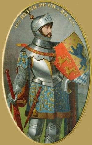 Henry V, Count Palatine of the Rhine - Henry, Count Palatine of the Rhine, Christian Tunica, 1836