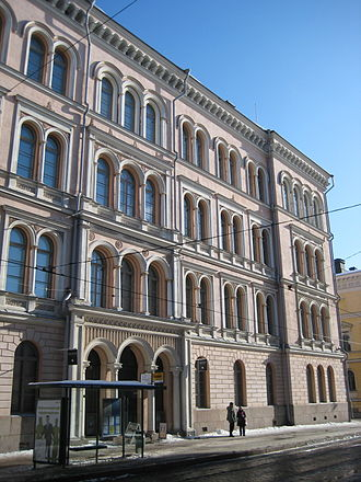 Helsinki University Museum - The University Museum served in Snellmaninkatu 3 between 2003 and 2014.