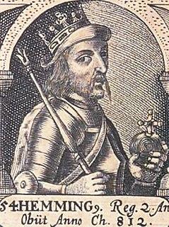 Hemming of Denmark King of the Danes