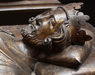 Henry III of England - Effigy of Henry in Westminster Abbey, c. 1272