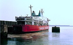 Herald of Free Enterprise 1984 in Dover