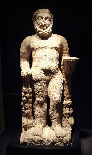 Destruction of Mosul Museum artifacts - Hatrene statue of Hercules