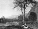Herman van Swanevelt - Quiet Summer Evening by a Mountain Lake - KMSsp488 - Statens Museum for Kunst.jpg