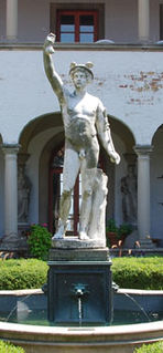 <i>Hermes</i> (sculpture) public artwork by an unknown Roman artist
