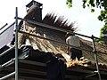 Hernen (Wijchen) Rijksmonument 9311 Dorpsstraat 33, vernieuwing dakstro (2).JPG