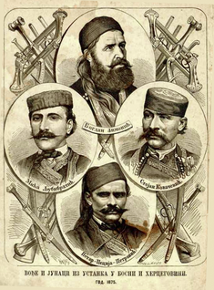 Herzegovina uprising (1875–1877) rebellion against the Ottoman Empire in the 1870s in the Balkans