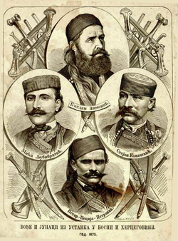 Герои восстания в Боснии и Герцеговине, Орао, 1876.png
