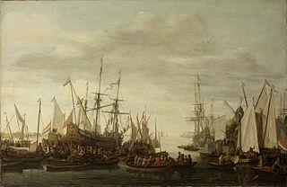 The Keelhauling of the Ship's Surgeon of Admiral Jan van Nes