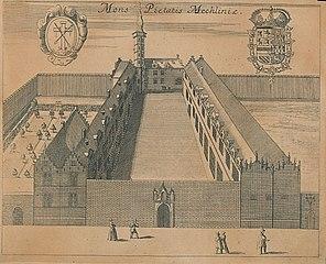 Het klooster Berg der barmhartigheid, Mechelen