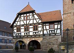 Heuchelheim Klingen altes Rathaus Heucheöheim2 20140306