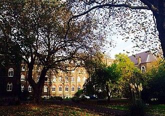 Heythrop College, University of London - Heythrop College gardens