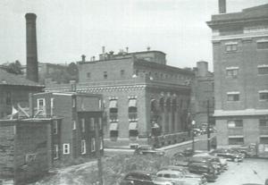 Highland Spring Brewery Bottling and Storage Buildings - Image: Highland Bottling 1920