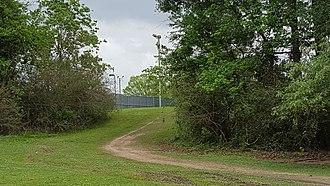 Highland Road Community Park - Image: Highland Road Community Park trail (Baton Rouge)