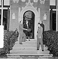 Hill ontvangt Generaal Gruenther op huis Raaphorst te Wassenaar, Bestanddeelnr 906-0370.jpg