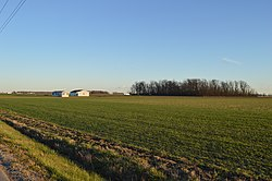 Fields off U.S. Route 224