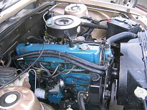 Holden straight-six motor - 3.3-litre Blue motor in a 1981–1984 VH Commodore