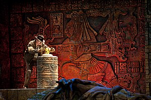 Indiana Jones - Indiana Jones as he appears at Disney theme parks.