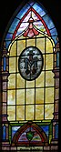 Holy Family Catholic Church (North Baltimore, Ohio) - stained glass, Miraculous Medal 2.jpg