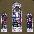 Holy Name Church (Columbus, Ohio) - stained glass, south transept, the Crucifixion.jpg