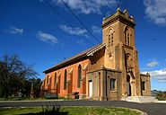 Holy Trinity Church was the first inland church in Australia