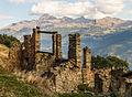 Homene Dessus, Combellin, Valle d'Aosta. Ruïne 01.jpg