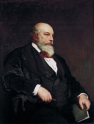 Horace Jones (architect) - Horace Jones (Walter William Ouless, 1886)
