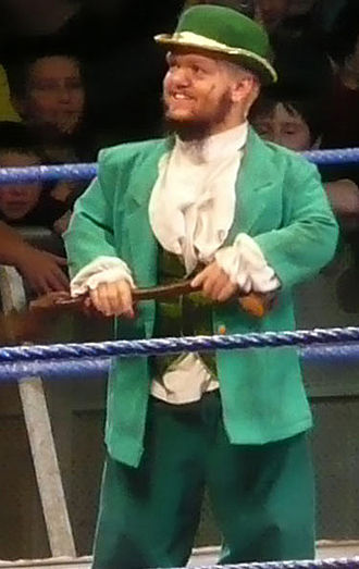 Midget wrestling - Hornswoggle in World Wrestling Entertainment in 2007