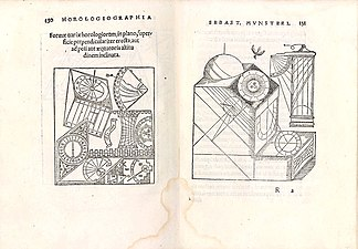 Horologiographia, post priorem aeditionem per Sebast. Munsterum MET DP345231.jpg