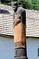 Hosszúhetény-Kisújbánya, Nepomuki Szent János-szobor 2021 08.jpg