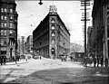 Hotel Seattle, corner of James St and Yesler Way, looking east, probably 1910 (SEATTLE 805).jpg
