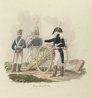 "Charles Hamilton Smith - ""United States Artillery"" by Smith"