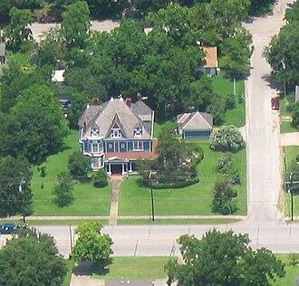 Navasota, Texas - The Sangster House (established 1902)