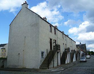 Newhaven, Edinburgh - Houses in Main Street