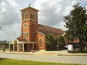 Second Ward, Houston - Our Lady of Guadalupe Catholic Church
