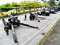 Howitzers and Armored Fighting Vehicles Display at Road 20120324.jpg