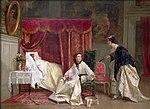 Hue, Charles Desire - Welcoming The Visitor - 1867.jpg
