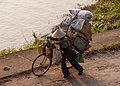 Hue Vietnam A-lady-with-her-bike-transporting-goods-01.jpg