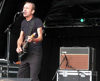 Hugh Cornwell -  Cornwell playing at Guilfest 2011