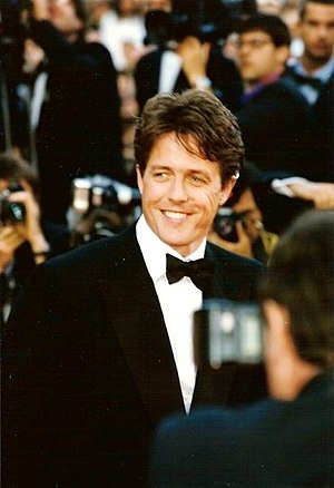 Hugh Grant - Grant at the Cannes film festival, 1997.