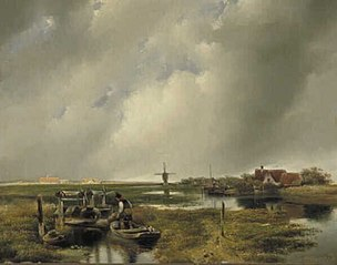 Plassen bij Rotterdam