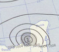 Hurricane Janet analysis 29 Sep 1955.png