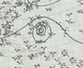 Hurricane Two surface analysis August 21, 1935.png