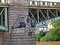 Hydra, Schlange, Čechův most, Praha, Prague, Prag, Hlavní město Praha - panoramio.jpg