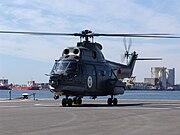 IAR 330 Puma Naval first flight