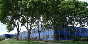 IBM Rochester - The sprawling IBM facility in Rochester, Minnesota.