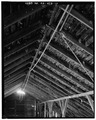 INTERIOR - ROOF DETAIL AND HAY RAIL - Kandt-Domann Farmstead, Barn, State Route 3, Hope, Dickinson County, KS HABS KANS,21-HOPE.V,1-B-10.tif