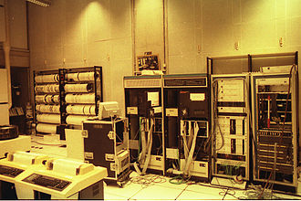 IRCAM - IRCAM's machine room in 1989