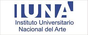 Universidad Nacional de las Artes - Image: IUNA logo